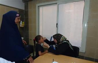 بالصور.. الكشف المجاني على 150 مريضاً في ﻗﺎﻓﻠﺔ ﻃﺒﻴﺔ لجامعة المنوفية بقرﻳﺔ ﺑﺨﺎﺗﻰ