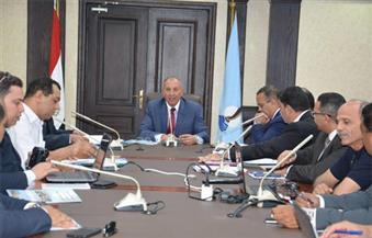 """بالصور.. """"عبدالله"""" و""""خضير"""" يبحثان استعدادات البحر الأحمر للمؤتمر الاقتصادي الإقليمي"""