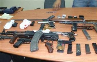 ضبط 15 قطعة سلاح فى حملة أمنية بأبنوب