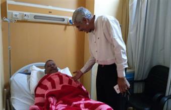 بالصور.. مدحت شوشة رئيس الهيئة يتفقد المركز الطبي لسكك حديد مصر