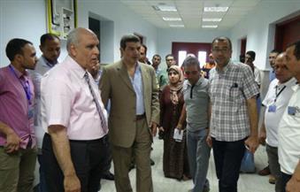 بالصور.. جولة تفقدية بمستشفي الكلى بجامعة المنيا استعدادًا لاستقبال أسبوع فتيات الجامعات المصرية الرابع
