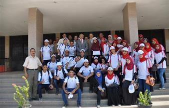 """بالصور.. طلاب جامعة المنيا يختتمون فعاليات مبادرة """"حلوة يا بلدي"""""""
