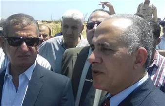 وزير الري يفتتح أعمال تأهيل ترعة الزاوية في كفرالشيخ بطول كيلو و750 مترًا