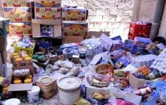 """""""تموين الإسكندرية"""" تضبط لحومًا وسلعًا غذائية غير صالحة للاستهلاك الآدمي في حملة على الأسواق"""