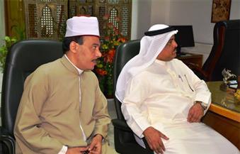 مديرالمؤسسة الخيرية الملكية بالبحرين فى سوهاج لمتابعة بناء معهد أزهري