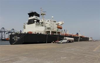 """""""الشيطى"""": 47 سفينة في ميناء دمياط بينهم 23 على المخطاف الخارجي"""