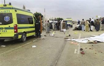 وفاة شخصين وإصابة 35 في حادث تصادم بالغردقة
