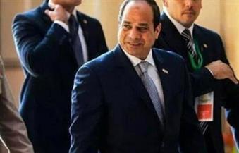 السيسي يصل دار الأوبرا ليشهد الاحتفال بالذكري الثالثة لثورة 30 يونيو