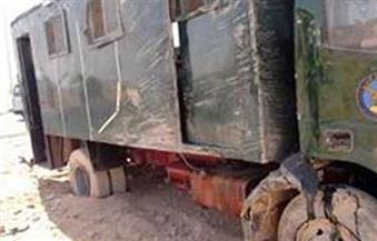 النيابة تستمع لأقوال شهود العيان في واقعة انفجار سيارة الأمن المركزي بطريق الأوتوستراد