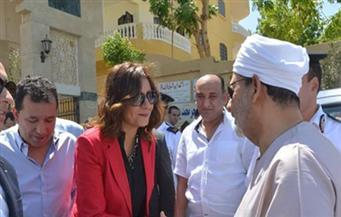 وزيرة الهجرة: زيارتي للأقصر نموذج لتكاتف جهود الحكومة لدعم المواطنين الأكثر احتياجًا