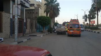 السيطرة على حريق بمستشفى التأمين الصحي ببني سويف