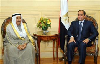 السيسي يجري اتصالاً هاتفيًا بأمير الكويت للتهنئة بحلول عيد الفطر المبارك