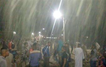 أهالي الحبيل بالأقصر يقطعون الطريق احتجاجًا على انقطاع المياه ليلة العيد