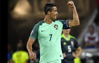 """""""رونالدو"""" يعادل رقم """"بلاتيني"""" بتسجيله الهدف التاسع في نهائيات أمم أوروبا"""