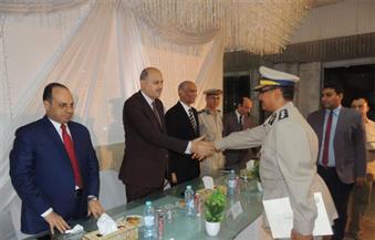 بالصور.. مدير أمن المنيا يكرم الضباط والأفراد المتميزين في العمل