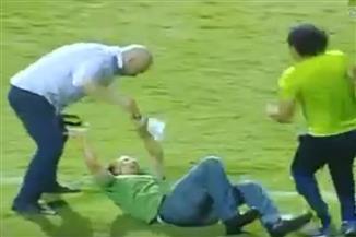 أمين الشرطة للنيابة: كنت أعد تقريرًا روتينيًا حول المباراة.. واعتداء حسام حسن أصابني بألم نفسي شديد
