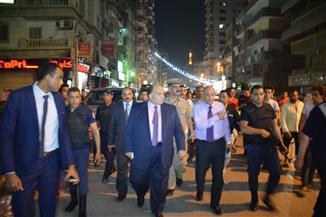 تحرير محضر رشوة موظف عام لعامل بالمنصورة خلال حملة ليلية بقيادة المحافظ