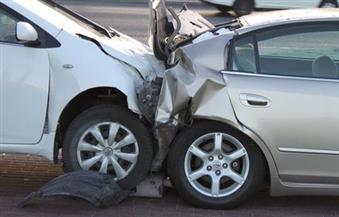 مصرع عامل وإصابة آخر في حادث تصادم 4 سيارات بالطريق الصحراوي بالإسكندرية
