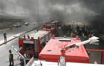 مصرع عامل  وإصابة آخر في حريق مروع بمطعم غرب الإسكندرية