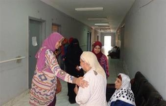 قافلة جامعة المنوفية تزور دار المسنين ببركة السبع