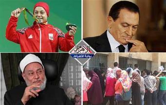 نتيجة تظلمات الثانوية.. البطلة المصرية.. المتهمون بمحاولة اغتيال جمعة.. سر صمت مبارك بنشرة منتصف الليل