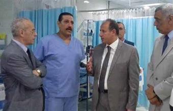 بالصور.. محافظ البحيرة يفتتح وحدة العناية المركزة بمستشفى شركة كفر الدوار