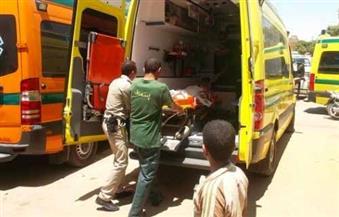 إصابة 5 بينهم ضابط شرطة فى حادث انحراف أتوبيس خاص بطريق رأس غارب – الزعفرانة