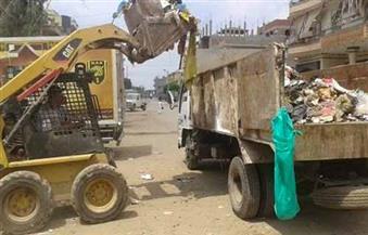 """""""وزارة البيئة"""": رفع 2300 طن مخلفات يوميًا وخطة لحل مشكلة التراكمات التاريخية بالإسكندرية"""