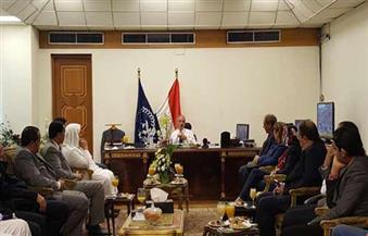 بالصور.. مدير الأمن يستعرض مع نواب البرلمان مشكلات مواطني الإسكندرية الأمنية