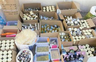 ضبط مستحضرات طبية مجهولة المصدر في حملة على الصيدليات بالإسكندرية