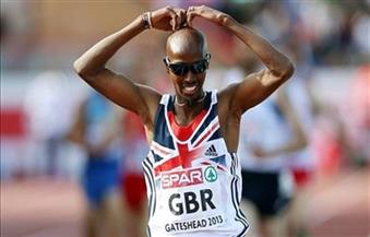 """بعد فوزه بذهبية سباق خمسة آلاف متر.. البريطاني """"فرح"""" يكمل ثنائية المسافات الطويلة"""