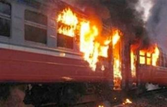السيطرة على حريق محدود بعربة أحد القطارات المتوقفة بمحطة مصر دون إصابات