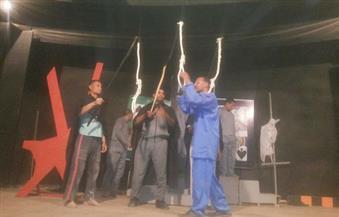 """فرقة فرشوط تستعد لافتتاح المهرجان الإقليمي لنوادي المسرح بعرض """"الكون كان"""""""