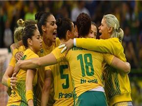 يد سيدات السامبا تتلالأ فى الأولمبياد وتصعد لدور الثمانية وتلتقى منتخب  المركز الرابع في المجموعة الثانية