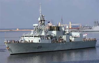 تدريبات مشتركة للبحرية المصرية مع المجموعة البحرية التابعة لحلف الناتو