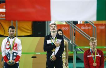 بالصور.. فيفياني يتوج بذهبية سباق أومنيوم للدراجات بأوليمبياد ريو 2016 وكافنديش يحصد الفضية