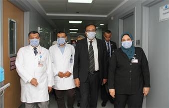 بالصور .. وفد من جامعة طنطا يزور فرع مستشفى 57357