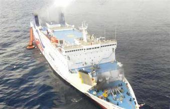 خفر السواحل الأمريكي ينقذ مئات الركاب جراء احتراق عبارة قبالة سواحل بويرتوريكو