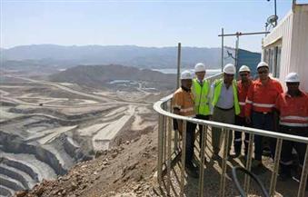 بالصور.. السفير الأسترالى يزور منجم السكرى لإنتاج الذهب بمرسى علم