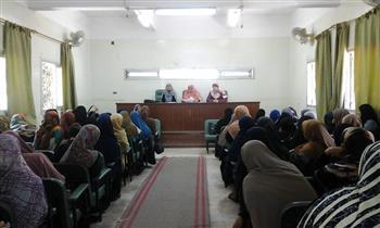 ندوة تثقيفية لسيدات الحسينية حول أضرار ختان الإناث