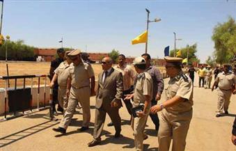 مدير أمن أسوان يشهد احتفالية تخرج دفعة جديدة من مجندي قوات الأمن