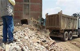 أهالي القوصية يشاركون في رفع 350 طن مخلفات خلال أسبوع