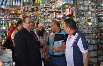 بالصور.. غلق 112 صيدلية لبيعها أدوية مخدرة ومهربة بكفر الشيخ