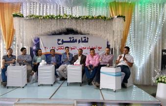 بالصور.. خالد يوسف: هناك مؤامرة ضد البلد والشعب صابر وواثق في الرئيس