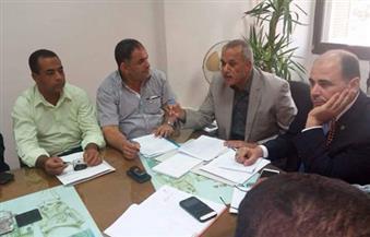 شلبى: متابعة تنفيذ مشروعات مياه الشرب والصرف الصحى بسوهاج