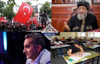 انتحار أمين شرطة.. بلاغ ضد باسم يوسف.. لعنة أردوغان بنشرة السادسة
