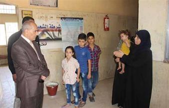 بالصور.. مدير أمن أسوان يلتقي المحتجزين السوريين بالسجون.. ويأمر بسرعة إنهاء إجراءاتهم