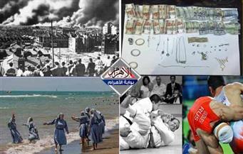 """الانتهازية الإيرانية.. تحذير """"المهندسين"""".. معركة المايوه البوركيني.. حقائق الحرب العالمية بنشرة السادسة"""