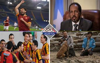 """وفاة رئيس وزراء..مقتل 23 ..تأهل الترجى ..طرح """"كلب بلدي"""" فى العيد..محمد صلاح صانع الفوز بنشرة التاسعة"""