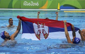 صربيا تهزم كرواتيا وتنال ذهبية منافسات كرة الماء للرجال في ريو